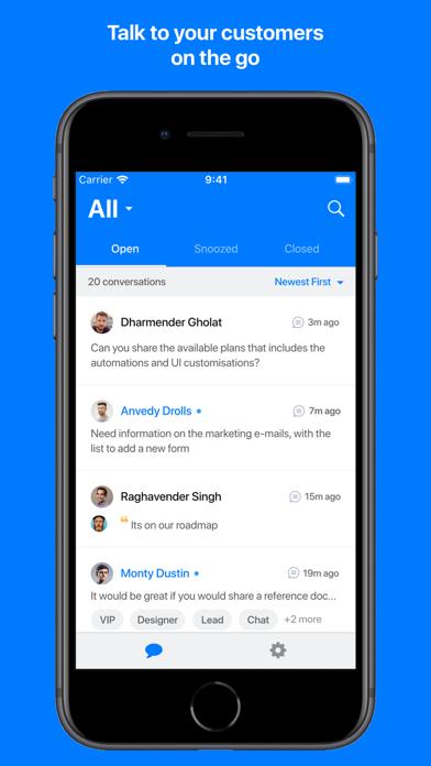 Gist Live Chat screenshot one