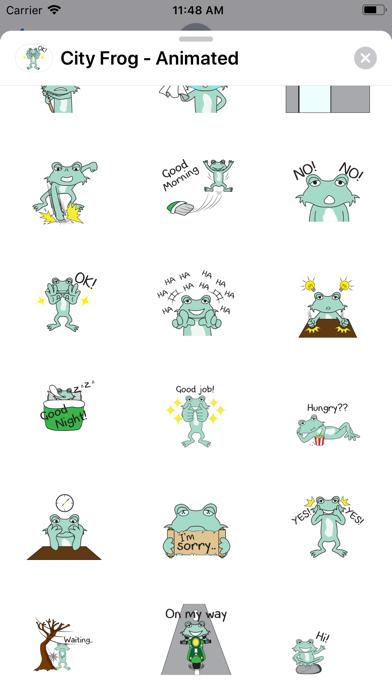 City Frog - Animated screenshot 2