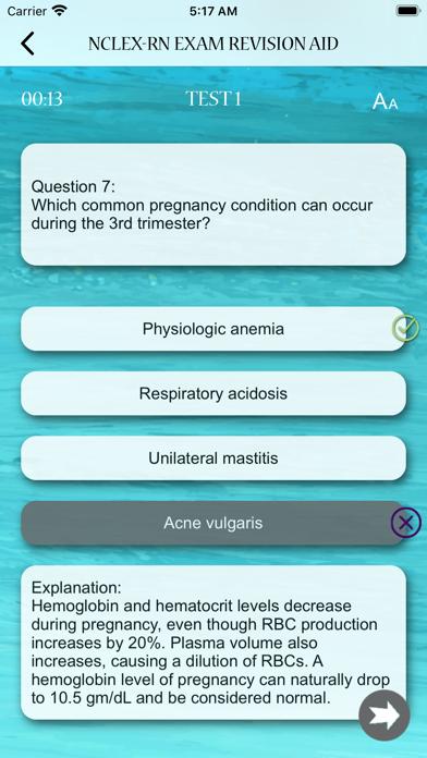 NCLEX RN Exam Revision Aid screenshot 8