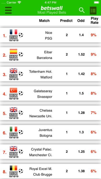 BetsWall Football Betting Tips screenshot-6