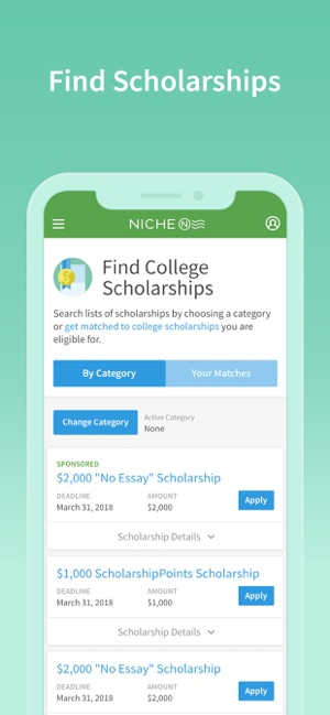 Niche: Colleges, K-12 & Places on the App Store