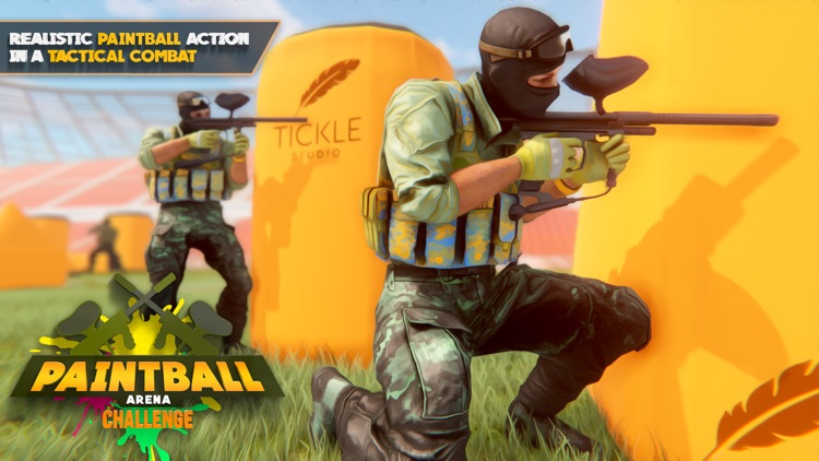 Paintball Arena Challenge screenshot-0