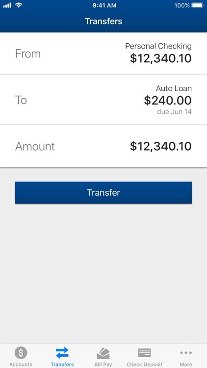America's CU Mobile Banking screenshot-3