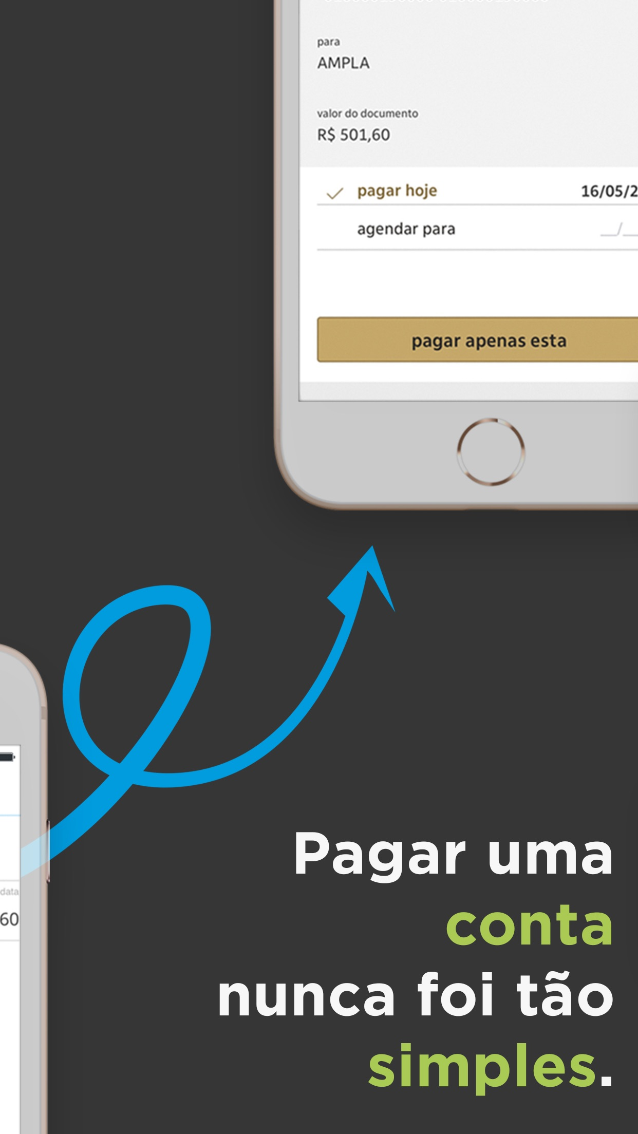Screenshot do app papelada - boletos e gastos