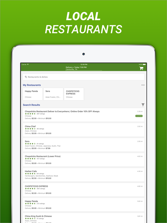 BeyondMenu Food Delivery screenshot