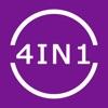 分数電卓 4in1 - iPhoneアプリ