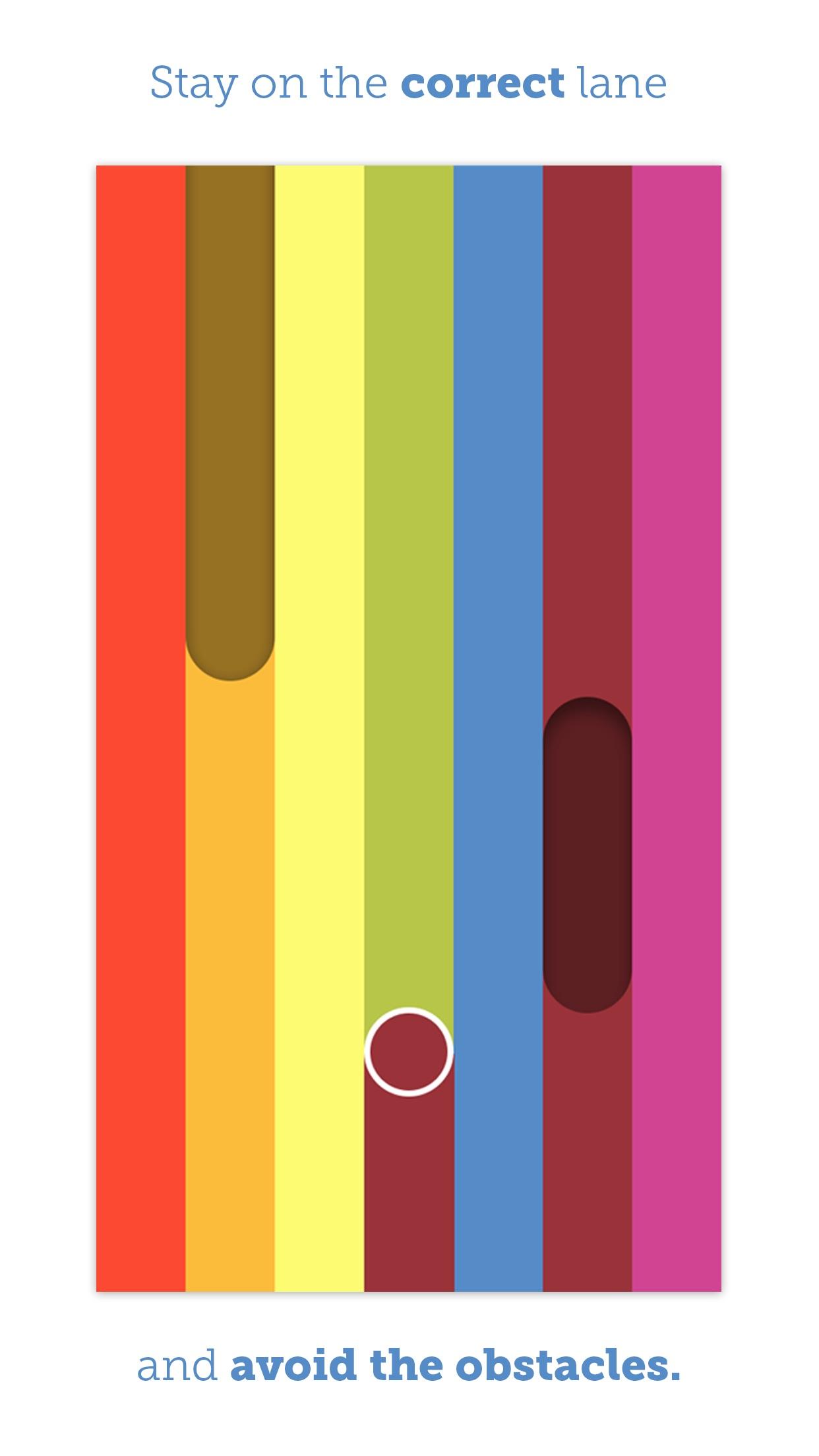 Screenshot do app Let it Rainbow