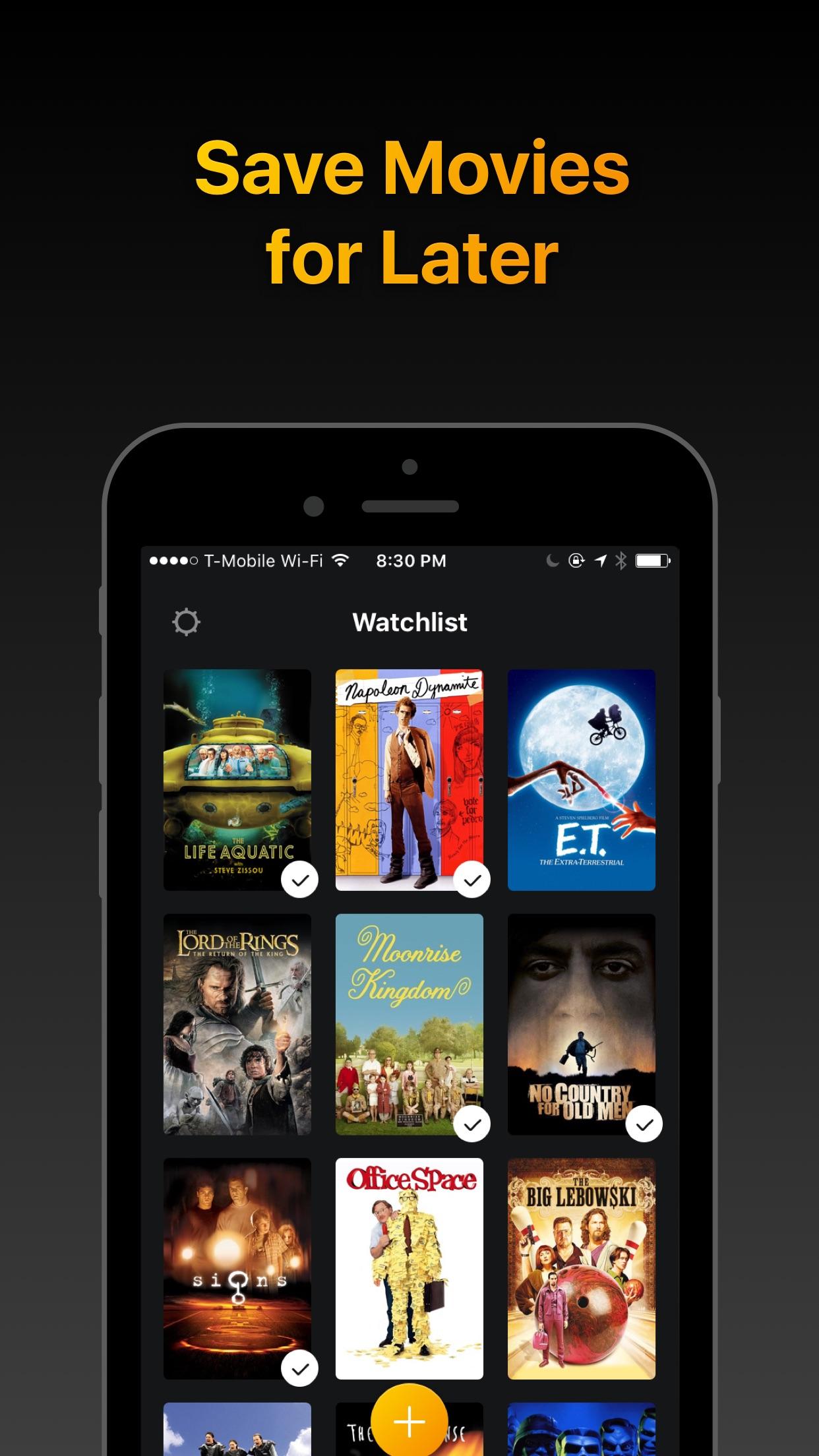 Screenshot do app Watchlist - Movies & TV Shows