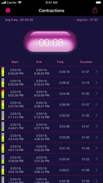 My Contraction Tracker screenshot-6
