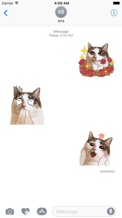 CatMoji Animated Humorous Cat screenshot 1