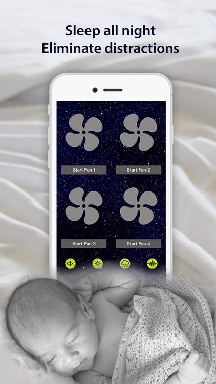 NiteFan - White Noise Fan App screenshot-3
