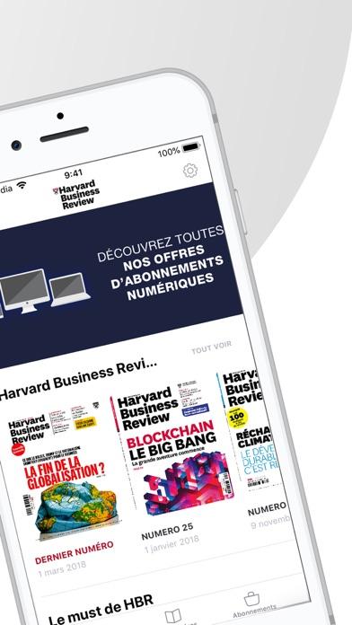 Screenshot for Harvard Business Review in United Arab Emirates App Store