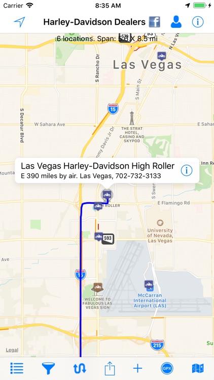 H-D Dealer Locations