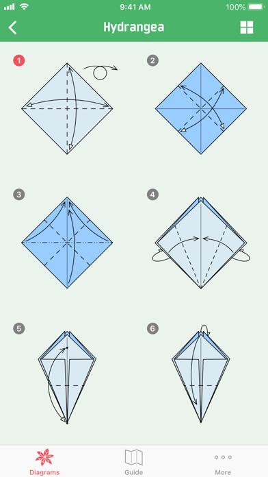 Origami Flowersのおすすめ画像4