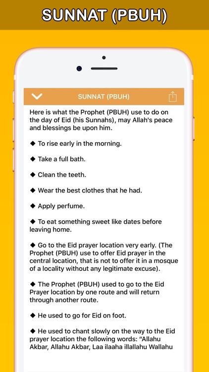 Eid Salah عيد الأضحى عيد الفطر screenshot-7