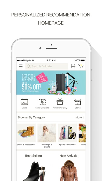 DHgate-Online Wholesale Stores for Windows