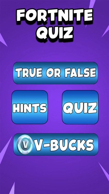 1# Vbucks Quiz l For Fortnite