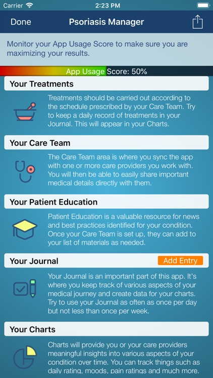 Psoriasis Manager screenshot-1