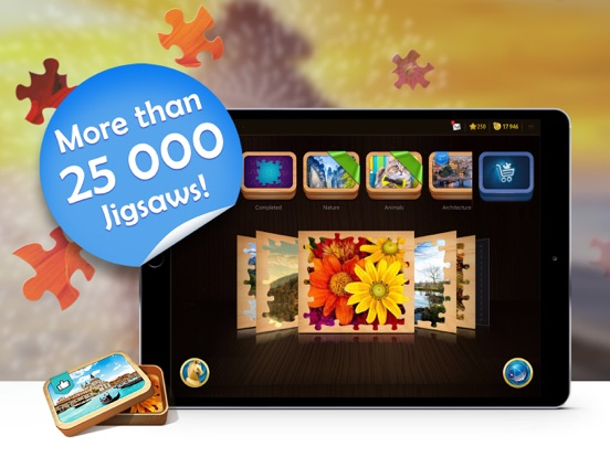 Magic Jigsaw Puzzles-ipad-1