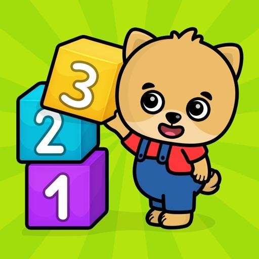 123子供の数字勉強ゲーム・2歳以上の幼児向け知育英語アプリ