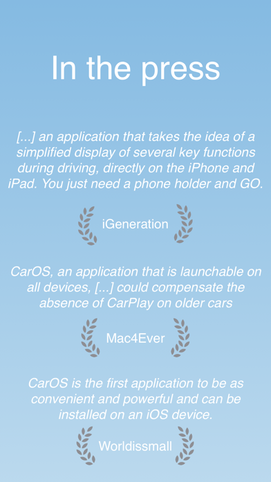 CarOS® — Powerful dashboard på PC