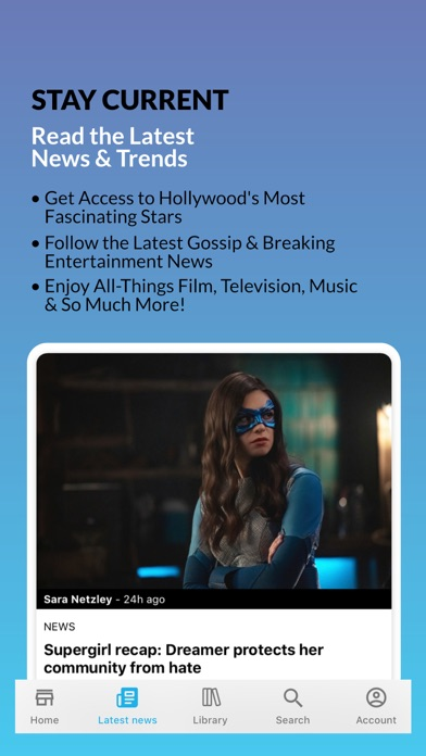 Entertainment Weekly Magazine review screenshots