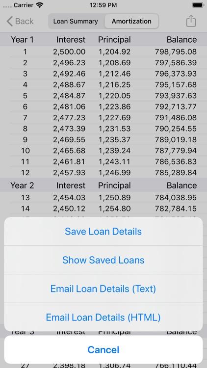 RECalc Mortgage Calculator screenshot-3