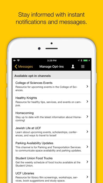 UCF Mobile screenshot-4