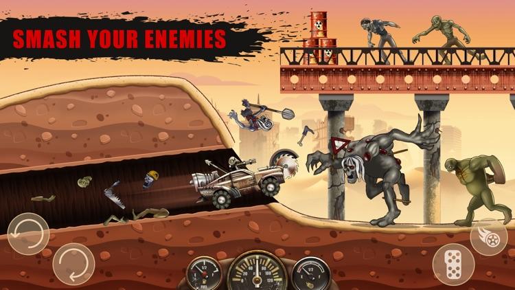 Zombie Hill Racing screenshot-3