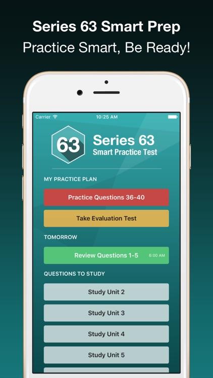Series 63 Smart Prep + screenshot-3