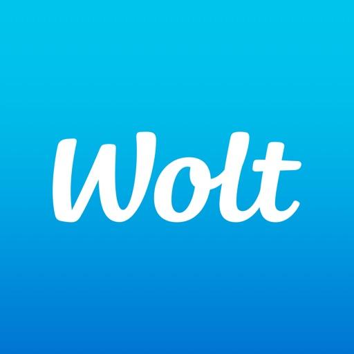 フードデリバリーサービス「Wolt(ウォルト)」のロゴ