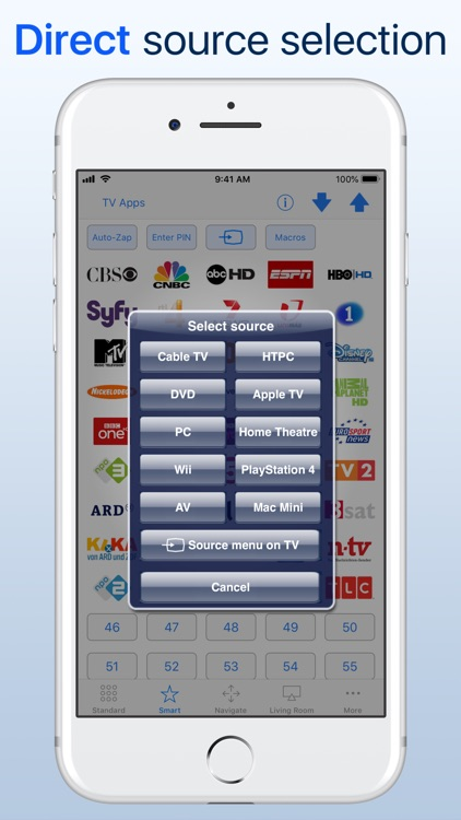 myTifi remote for Samsung TV screenshot-5