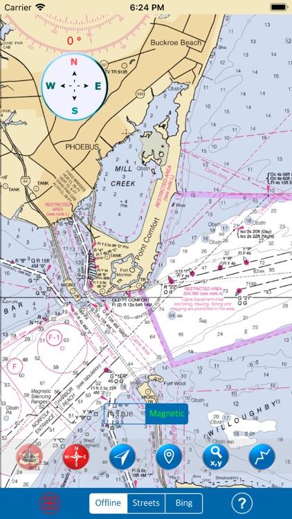 CHESAPEAKE & DELAWARE BAYS SEA