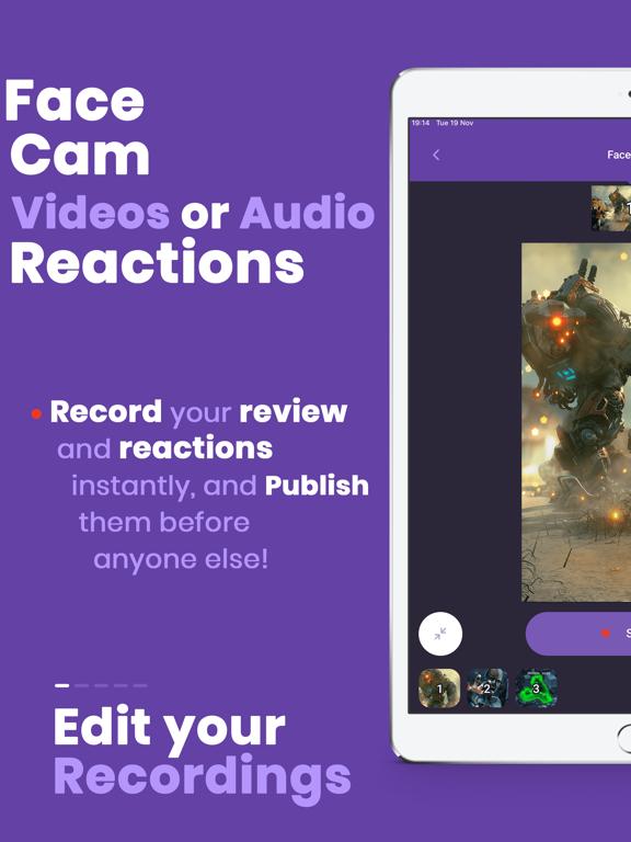Game Rec Games Screen Recorder screenshot