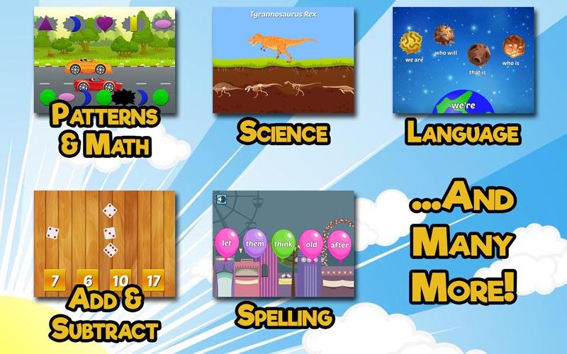 First Grade Learning Games screenshot 2