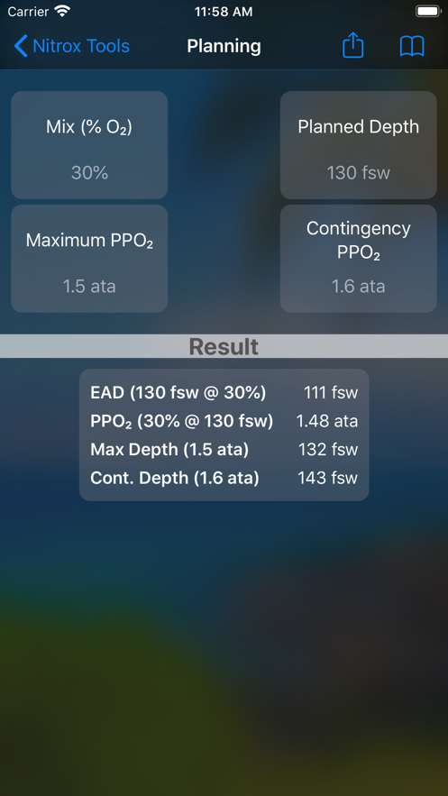 Nitrox Tools App 截图