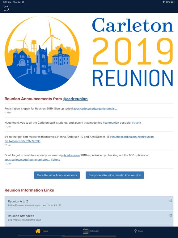 Screenshot # 4 pour Carleton Reunion