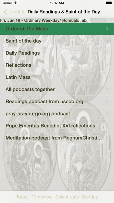 Screenshot for Laudate - #1 Catholic App in United States App Store