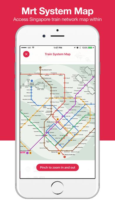 Screenshot #3 pour Singabus - Bus Timing + MRT