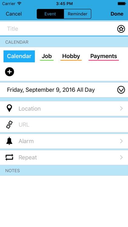 Calendar Z screenshot-3