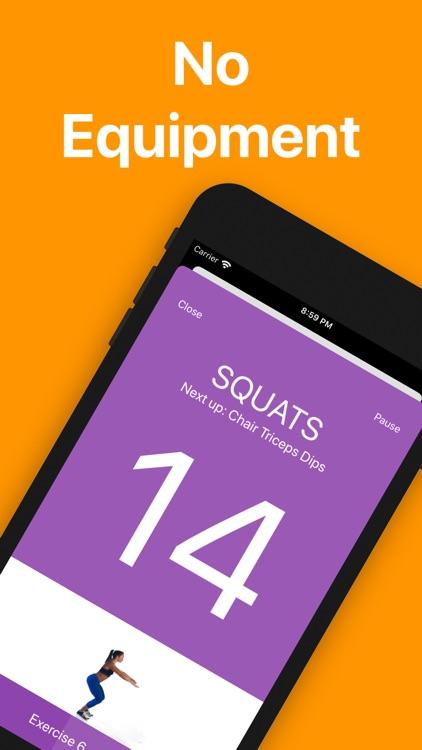 7 Minute Workout screenshot-3