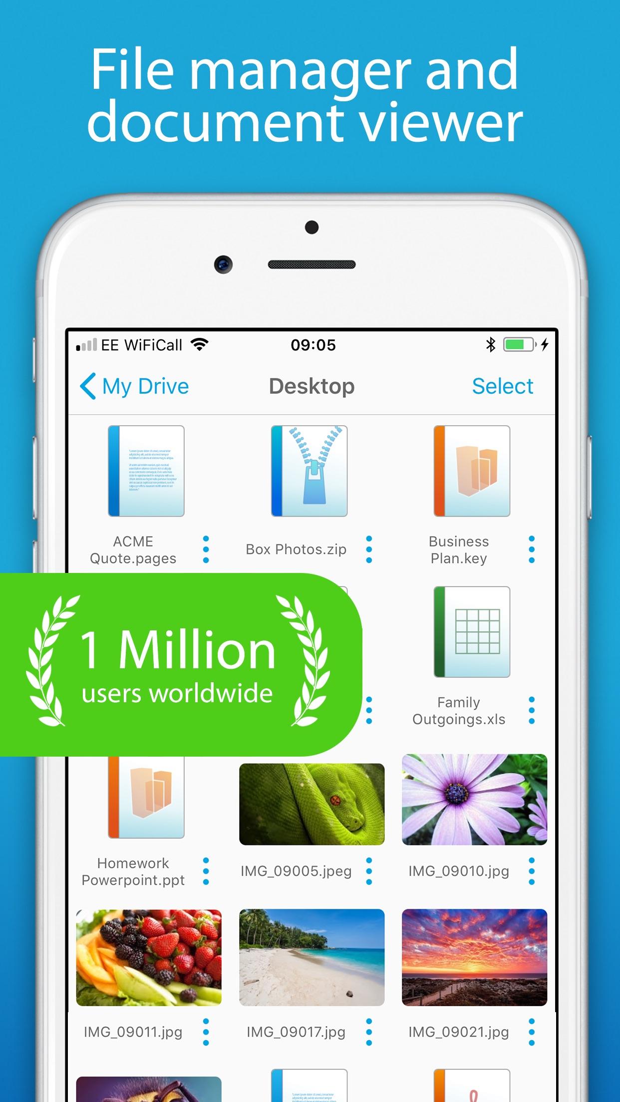 FileBrowser - Document Manager Screenshot