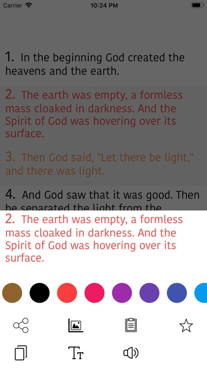 Malayalam Bible Offline - KJV screenshot-7