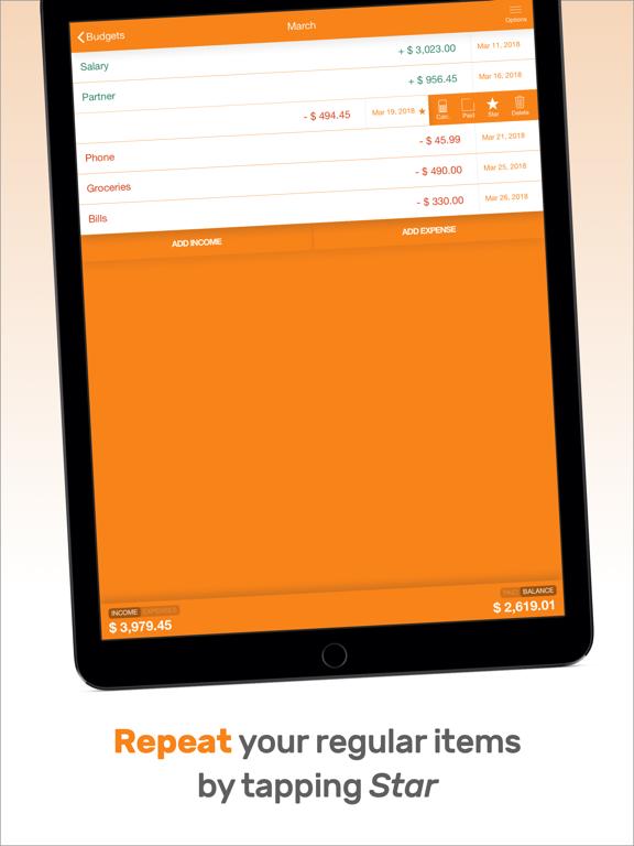Fudget Pro: Budget Planner Screenshots