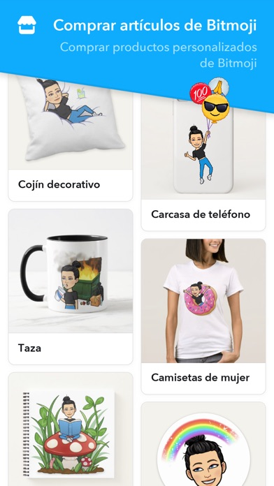 Screenshot for Bitmoji in Mexico App Store