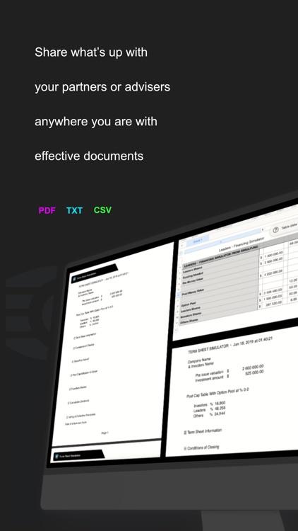 Simulfund*Term Sheet & Funding screenshot-8