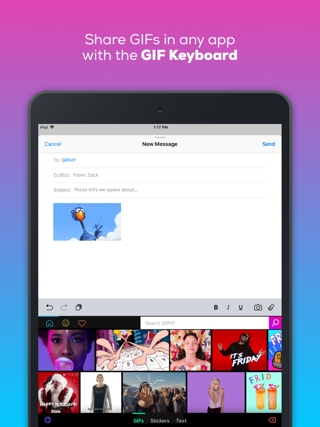 GIPHY: The GIF Search Engine Screenshot