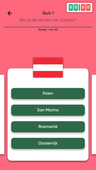 Quiz - Ken jij de landen? Screenshot
