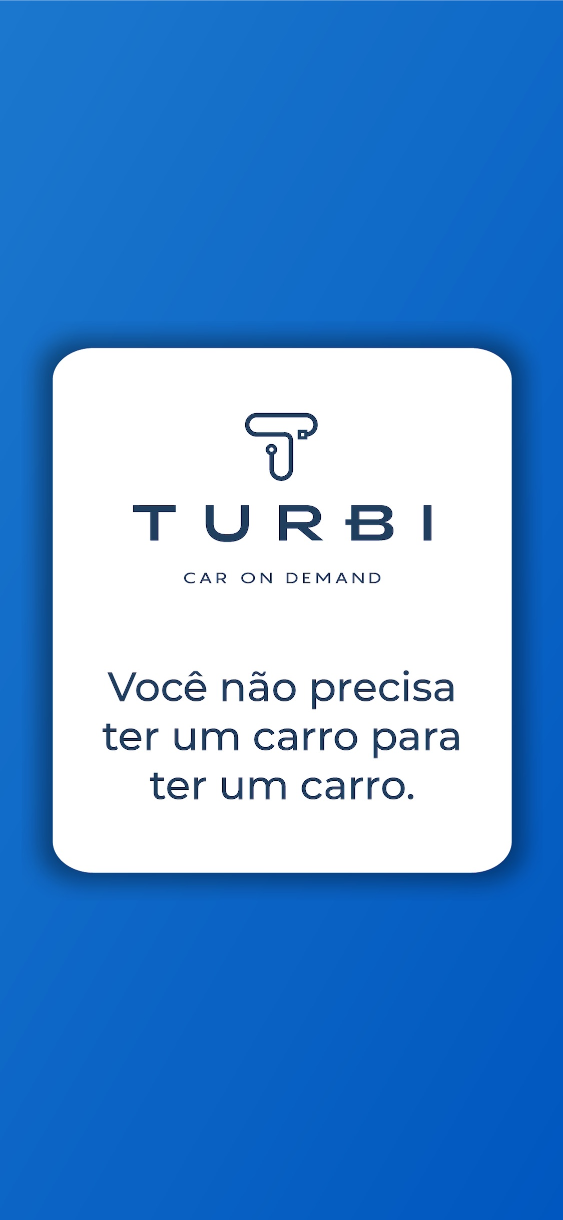 Screenshot do app Turbi - Aluguel de Carros