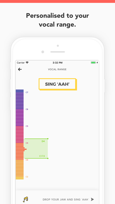 Vanido: Learn to sing Screenshot